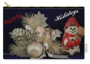 Holiday Greeting Carry-all Pouch