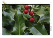 Holiday Holly Carry-all Pouch