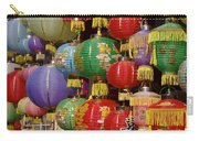 Chinese Holiday Lanterns Carry-all Pouch