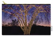 Holiday Lights Carry-all Pouch