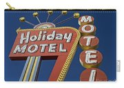 Holiday Motel Las Vegas Carry-all Pouch by Edward Fielding