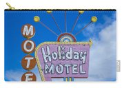 Holiday Motel Carry-all Pouch