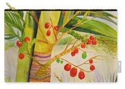 Holiday Palm Carry-all Pouch