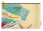 Holiday Postcards Carry-all Pouch by Amanda Elwell