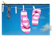 Holiday Washing Line Carry-all Pouch by Amanda Elwell