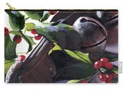 Holly And Bells Carry-all Pouch