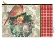 Holly And Berries-a Carry-all Pouch