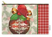 Holly And Berries-b Carry-all Pouch