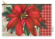 Holly And Berries-h Carry-all Pouch