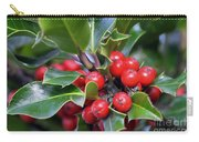 Holly Berries 2 Carry-all Pouch