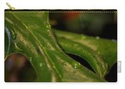 Holly Leaf Abstract Carry-all Pouch