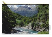 Hollyford River And The Eyre Range Carry-all Pouch