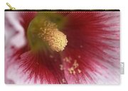 Hollyhock Flower Carry-all Pouch