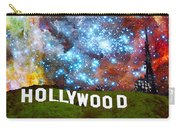 Hollywood 2 - Home Of The Stars By Sharon Cummings Carry-all Pouch