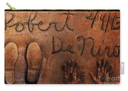 Hollywood Chinese Theatre Robert De Niro 5d29011 Carry-all Pouch