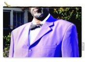 Hollywood Wearing His Dress Suit And Bow Tie Color Photo Usa Carry-all Pouch