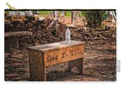 Holt Cemetery - God Is Love Bench Carry-all Pouch