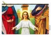 Holy Family With Cross Carry-all Pouch