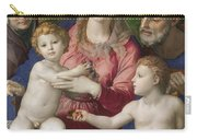 Holy Family With St. Anne And The Infant St. John Carry-all Pouch