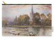 Holy Trinity Church On The Banks If The River Avon Stratford Upon Avon Carry-all Pouch