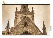 Holy Trinity Stratford On Avon Sepia Carry-all Pouch