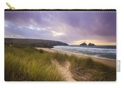 Holywell Bay Spectacular Sunset Carry-all Pouch