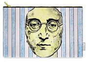 Homage To John Lennon  Carry-all Pouch by John  Nolan