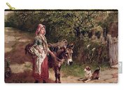 Home From Market Carry-all Pouch by Edgar Bundy