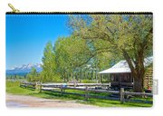 Home In Polebridge On West Side Of Glacier Np-mt Carry-all Pouch