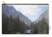 Home In The Mountains Carry-all Pouch by Jeff Kolker