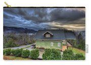Home In The Mountains Carry-all Pouch