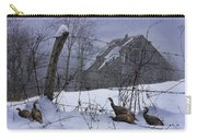 Home Through The Snow Carry-all Pouch