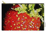 Homegrown Strawberry Mosaic Carry-all Pouch
