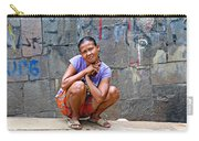 Homeless In Indonesia Carry-all Pouch