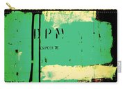 Homeless Shelter Carry-all Pouch by Chris Berry