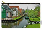 Homes Near The Dike In Enkhuizen-netherlands Carry-all Pouch