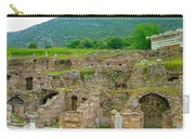 Homes Of The Rich In Central Ephesus-turkey Carry-all Pouch