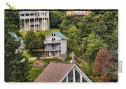 Homes On Mt. Harrison-smoky Mountains Gatlinburg Tennesse Carry-all Pouch
