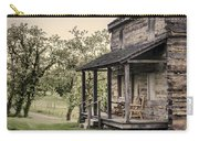 Homestead At Dusk Carry-all Pouch by Heather Applegate