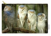 Homosassa Springs Snowy Owls 2 Carry-all Pouch