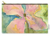 Honesty British Flower Painting Carry-all Pouch