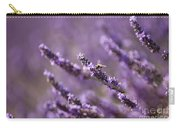 Honey Bee In Lavender Carry-all Pouch