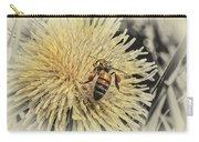 Honey Bee Meets Dandy Lion Carry-all Pouch