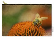 Honey Bee On Flower Carry-all Pouch