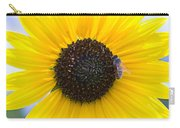 Honey Bee On Wildflower Carry-all Pouch
