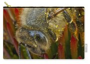 Honey Bee Profile Carry-all Pouch