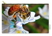 Honeybee And Squill Carry-all Pouch