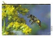 Honeybee In Flight Carry-all Pouch