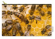 Honeybee Workers And Queen Carry-all Pouch