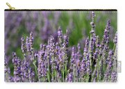 Honeybees On Lavender Flowers Carry-all Pouch